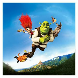 Shrek. Размер: 60 х 60 см